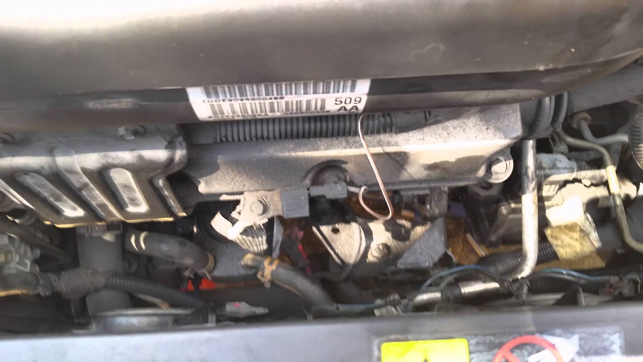 replacing a starter on a 2005 chrysler pacifica