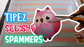 Tipe - tipe Squishy Spammers | LalaLeen