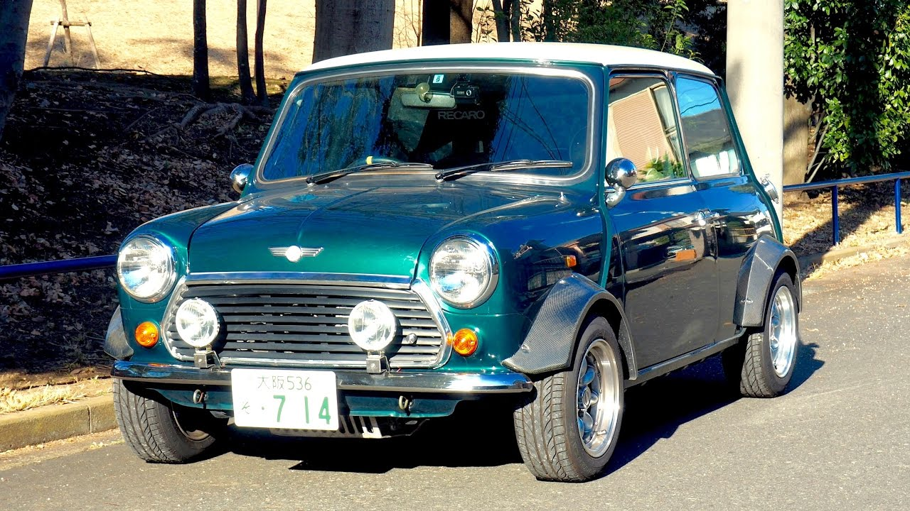 1996 Classic Mini Cooper 13i Canada Import Japan Auction Purchase