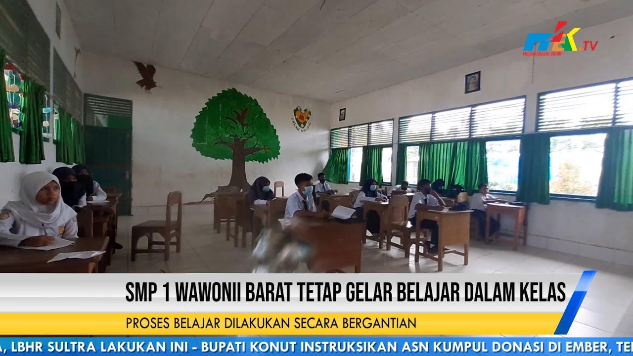 SMP 1 Wawonii Barat Tetap Gelar Belajar Dalam Kelas