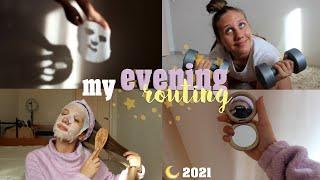 МОЙ ЛЕТНИЙ ВЕЧЕР 2021 Генеральная уборка Уход за лицом волосами и телом My evening routine