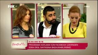 Şakir Can  Esra  Erol'da  16.1.2014