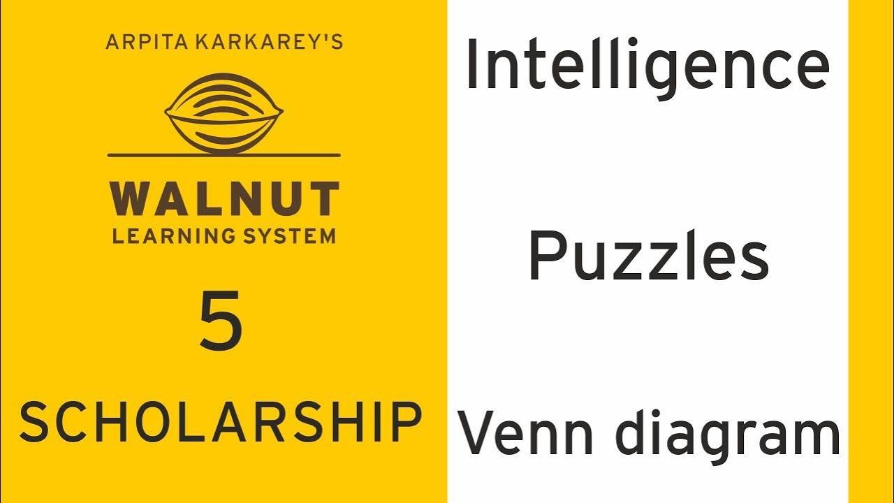 5 scholarship intelligence puzzles venn diagrams youtube 5 scholarship intelligence puzzles venn diagrams ccuart Choice Image