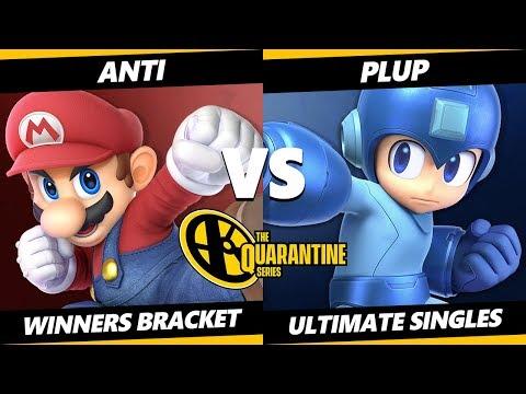 May Major Winners Bracket - ANTi (Mario) Vs. Plup (Mega Man) Smash Ultimate - SSBU