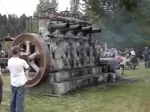 Old Diesel Engine 1936 Fairbanks Morse Model 32d Youtube