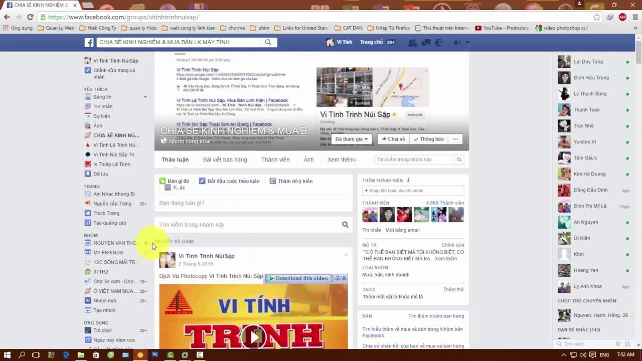 Chỉnh Micphone Gọi điện trong Facebook