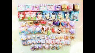 NEWEST SQUISHIES | Huge Squishy Package from Creamiicandy & Puni Maru