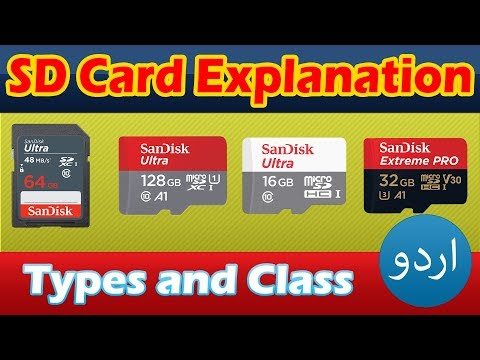 MicroSD Cards and Secure Digital (SD) Card Types and Class Explained in Detail - SDHC, SDHC, SDXC