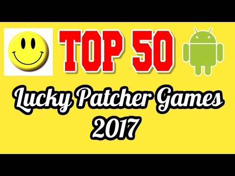 Top 50 Lucky Patcher Games List 2017 Android No Root