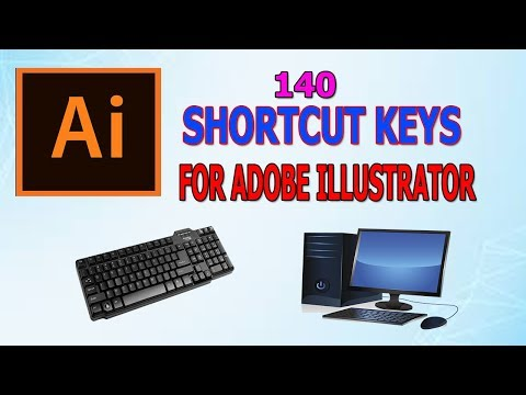 All 140 Important Shortcut Key in Adobe illustrator/Adobe Illustrator tutorial thumbnail