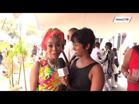 WATCH: Siv Ngesi kisses Khanyi Mbau in the middle of this interview