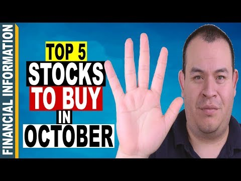 5 Stocks to BUY in OCTOBER 2017 📈 | Top 5 Stocks to WATCH🔎 INVEST📊or TRADE📈
