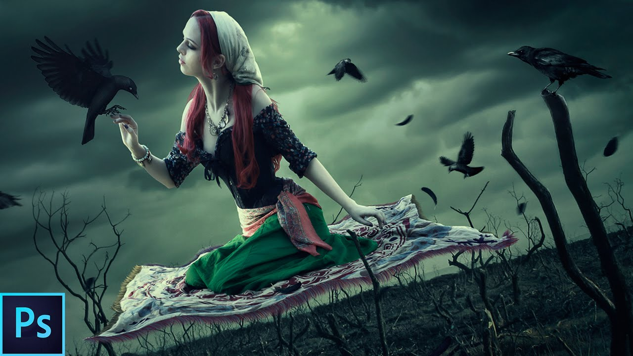 Dark, Fantasy Photo Manipulation - Photoshop Tutorial