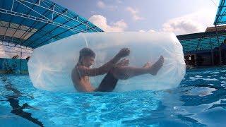 NTN - 4K Thử Bơi Trong Túi Ni Lông ( How to air balloons )