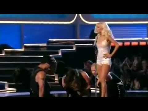 Christina Aguilera Aint No Other Man  at MTV Movie Award 2006