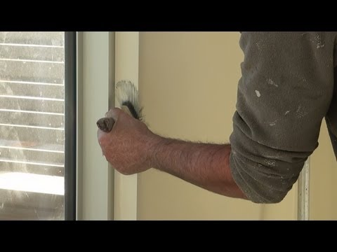How To Paint MDF - How to prepare and paint primed or bare mdf trim.