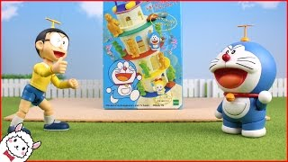 Doraemon vs Nobita Balance game toy animation ドラえもん ALPACO