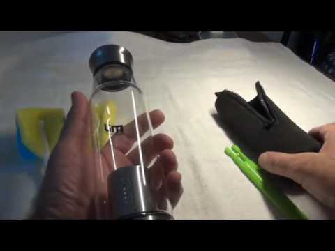 MIU COLOR® Glass Water Bottle Reviews