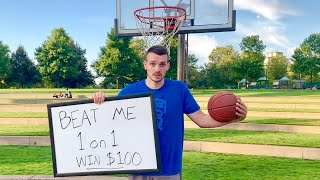 Beat Me 1v1, You Win $100!