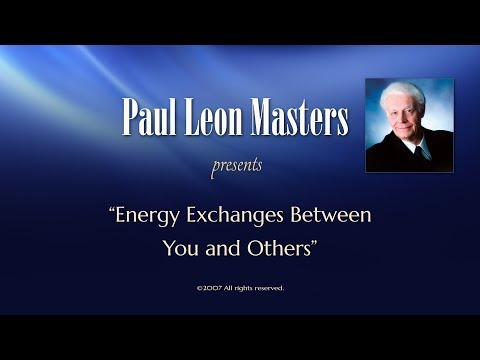 Energy Exchanges between You and Others