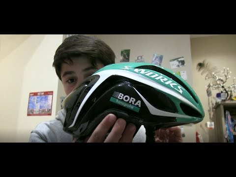 392f88ab7a7 UMBOXING D'UN SUPER CASQUE (S-Works Specialized Evade Team Bora-Hansgrohe  2017)