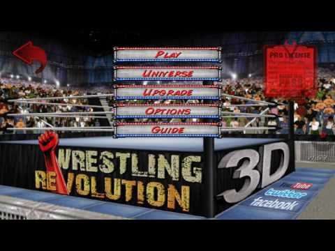 HOW TO MAKE SIN CARA AND REY MYSTERIO IN WR3D(SPECIAL DAY)
