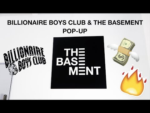 BILLIONAIRE BOYS CLUB SAMPLE SALE + BASEMENT POPUP + TICKET INSPECTOR MARE VLOG #1