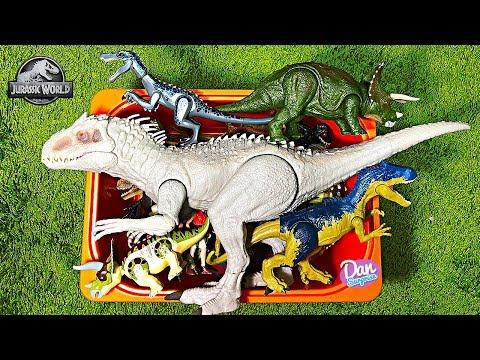 Box Of Dinosaur Toys! Fun Video Learning Dinosaur Names For Kids