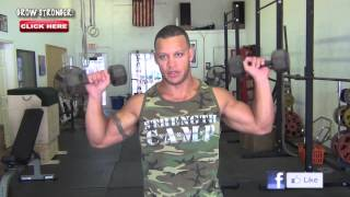 Advanced Dumbbell Circuit Training