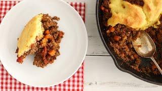 Cornbread and Chili Pie - Everyday Food with Sarah Carey