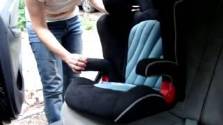 Детское автокресло 2/3 Eternal Shield Es03 Bright установка видео