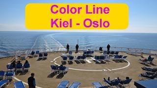 Mit der Color Line von Kiel nach Oslo und Retour