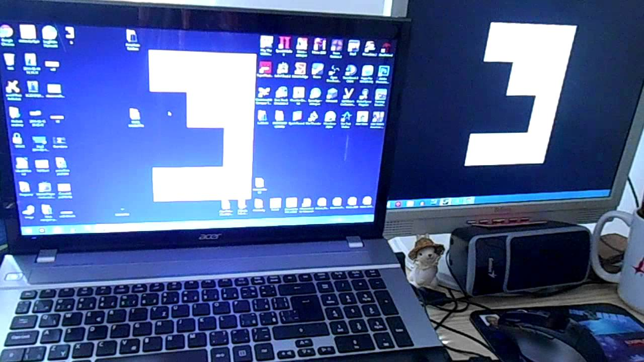 Jak připojit dva monitory