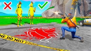 99.9% IMPOSSIBLE WHO IS THE KILLER CHALLENGE in Fortnite Murder Mystery