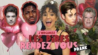 PRANK J'ORGANISE LES PIRES RENDEZ-VOUS A MES POTES ( et c drôle ) ||Lena Situations