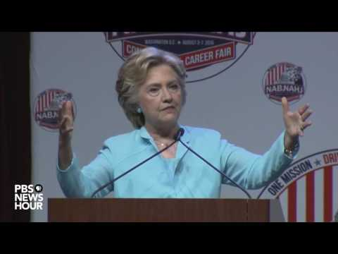Hillary Clinton addresses email controversy at NABJ/NAHJ Conference