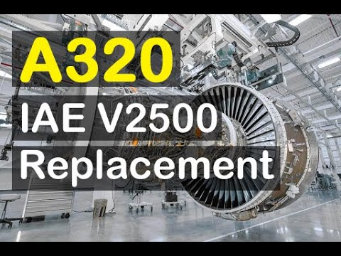 Airbus A320 V2500 Engine Removal Installation Youtube