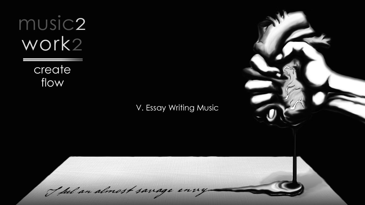 essay writing music music to create flow get productive