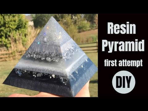 DIY Resin Pyramid - So Easy, My First One!