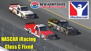 10th Career iRacing Victory!   NASCAR iRacing Class C Fixed @ New Hampshire
