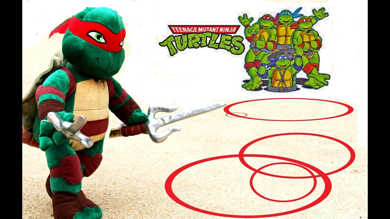 Teenage Mutant Nija Turtle Build A Bear
