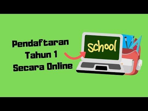 Pendaftaran Tahun 1 Online Dengan Sistem Pendaftaran Dalam Talian Kpm Skatkpm Youtube