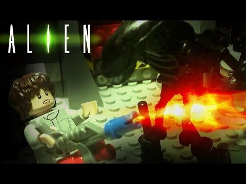 LEGO Alien - The Incident
