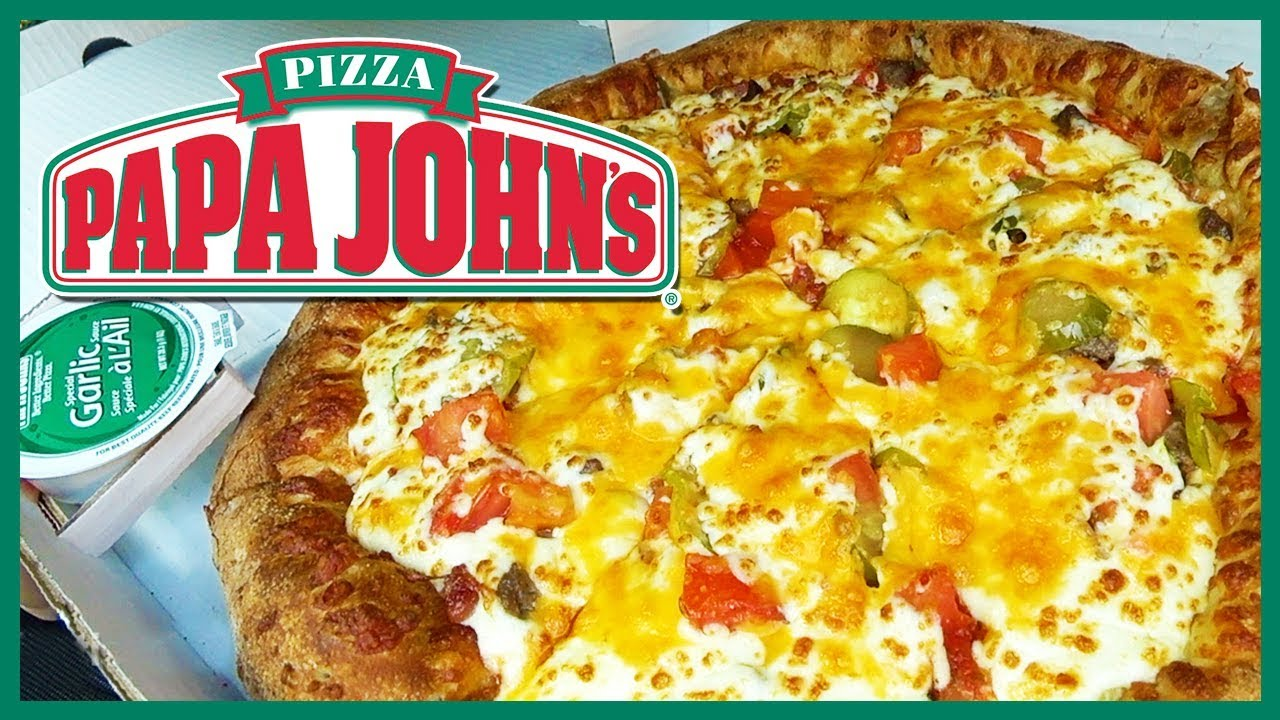 Papa John's Bacon Cheeseburger Pizza with PICKLES???