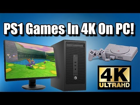 How To Run PS1 Game In 4K Or 1080P On PC! It Looks Amazing!