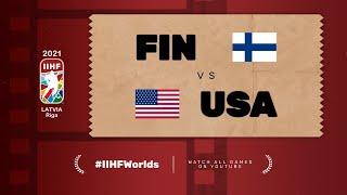 Finland – United States | Live | Group B | 2021 IIHF Ice Hockey World Championship