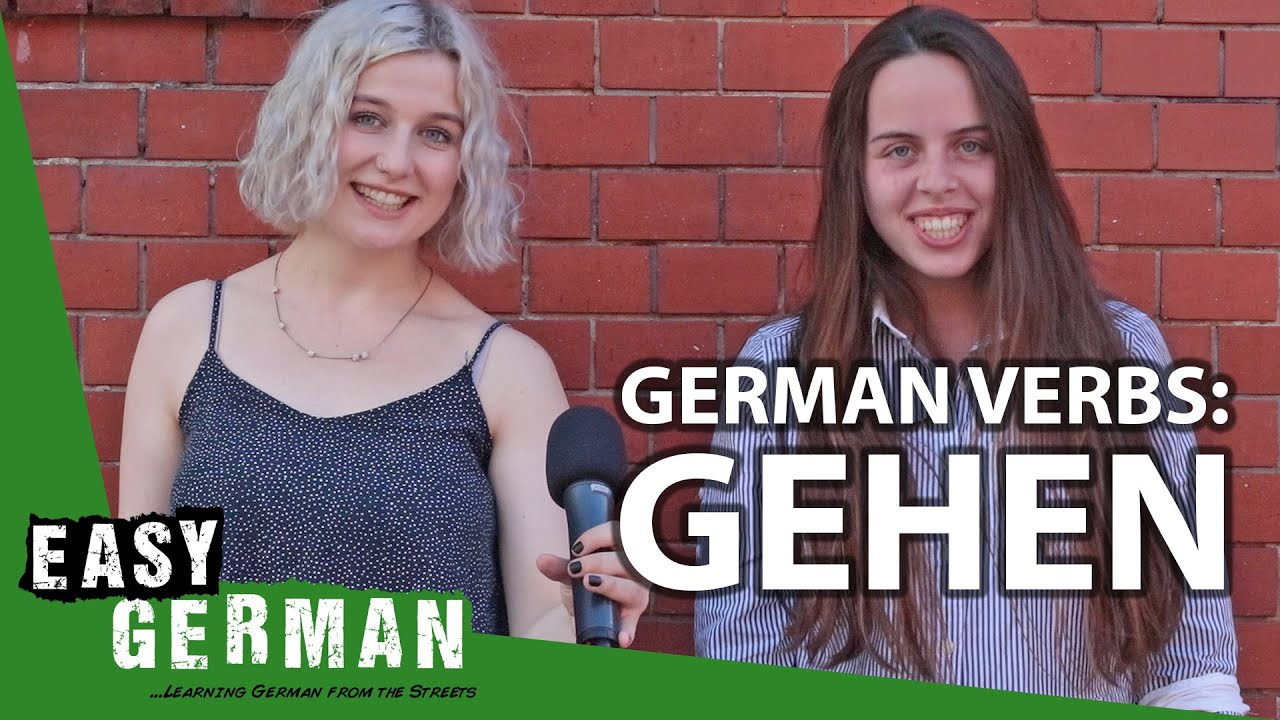 German Verbs: Gehen | Super Easy German (147)
