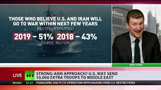 Is Trump trying to escape impeachment by starting war with Iran?