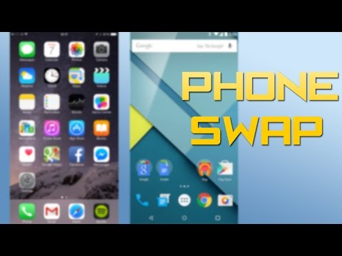 Android User & iPhone user's Switch Phones for a week!