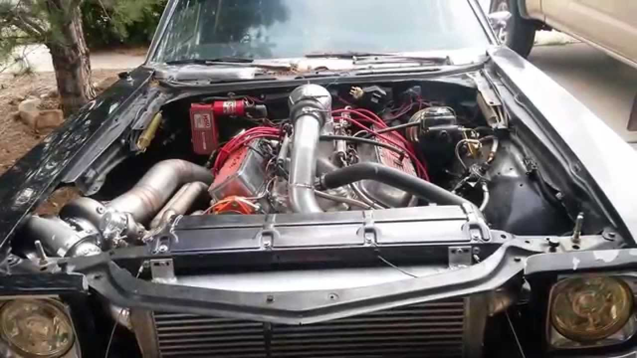 Single Turbo 585 Big Block Chevelle Untuned Youtube
